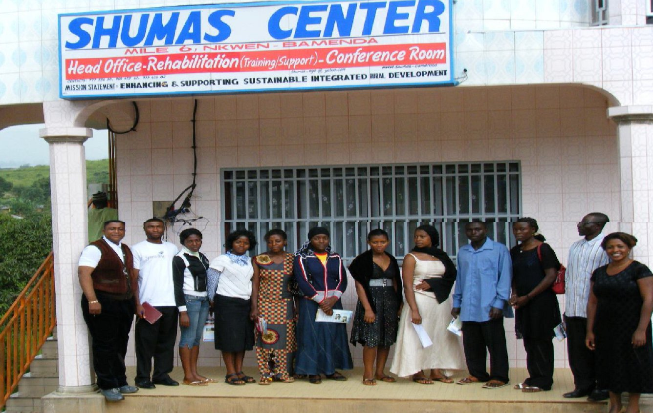 Students with SHUMAS staff
